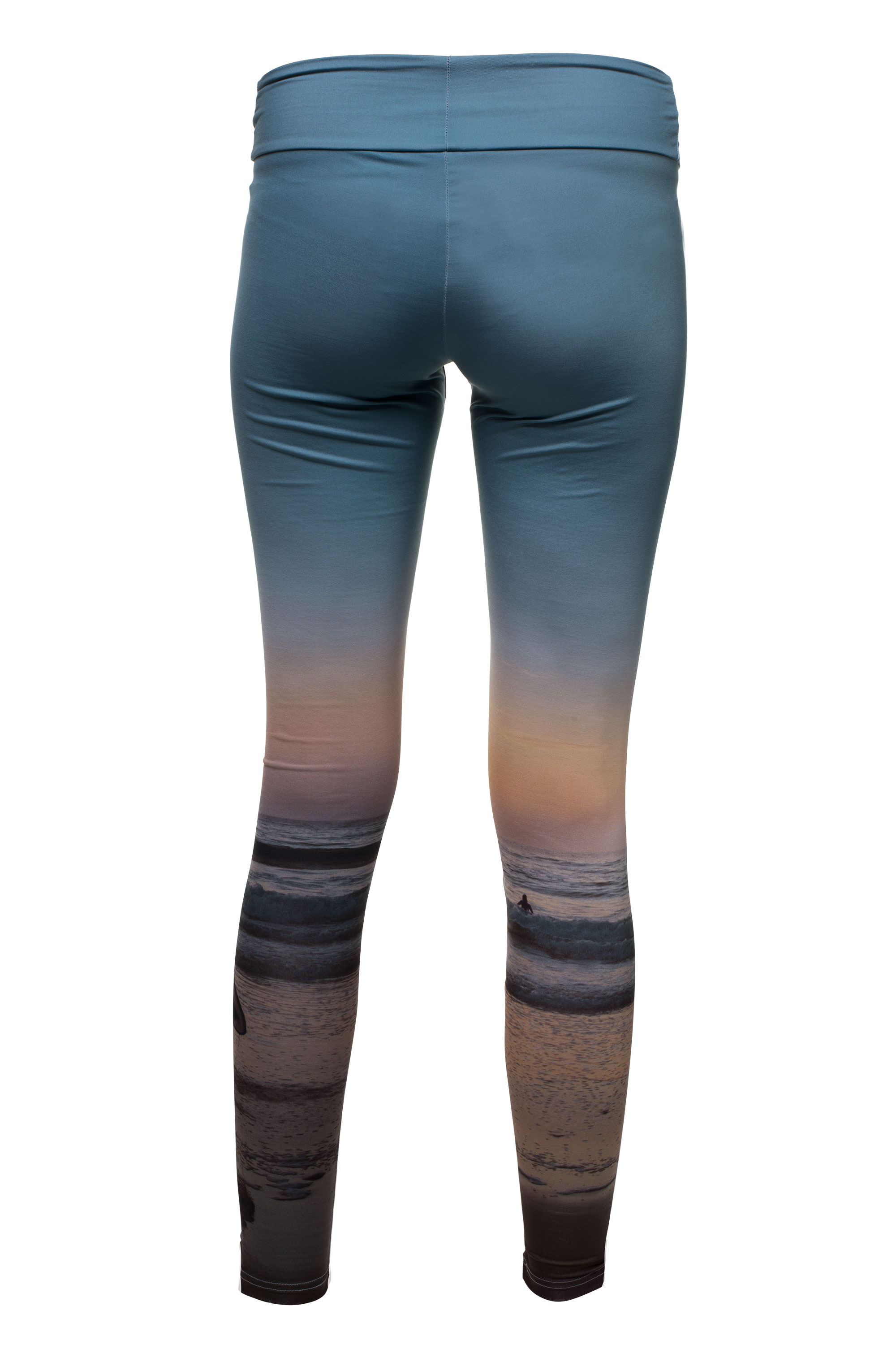 Leggings mit Strandprint